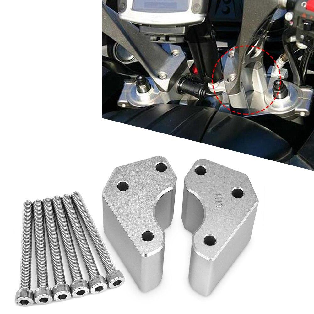 مهايئ مقود الدراجة النارية مهايئ رفع طقم تمديد من الألومنيوم لـ Kawasaki GTR1400 concours 1400 2008-2019 أجزاء