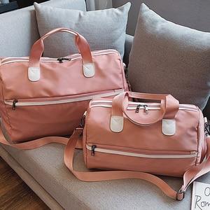 2021 New Nylon Foldable Travel Bags Unisex Large Capacity Bag Luggage Women Yoga Fitness Waterproof Handbags Men Travel Bags