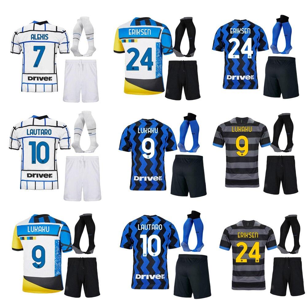Camiseta de fútbol para hombres y niños, maillot de pie de Milán,...