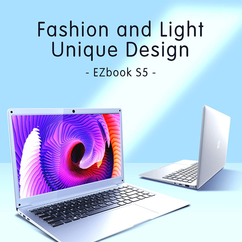 Jumper EZbook S5 Notebook Windows 10 12GB 256GB Intel N4020  Dual Core  Laptop 14 Inch 1920*1080 IPS Computer PC Portable