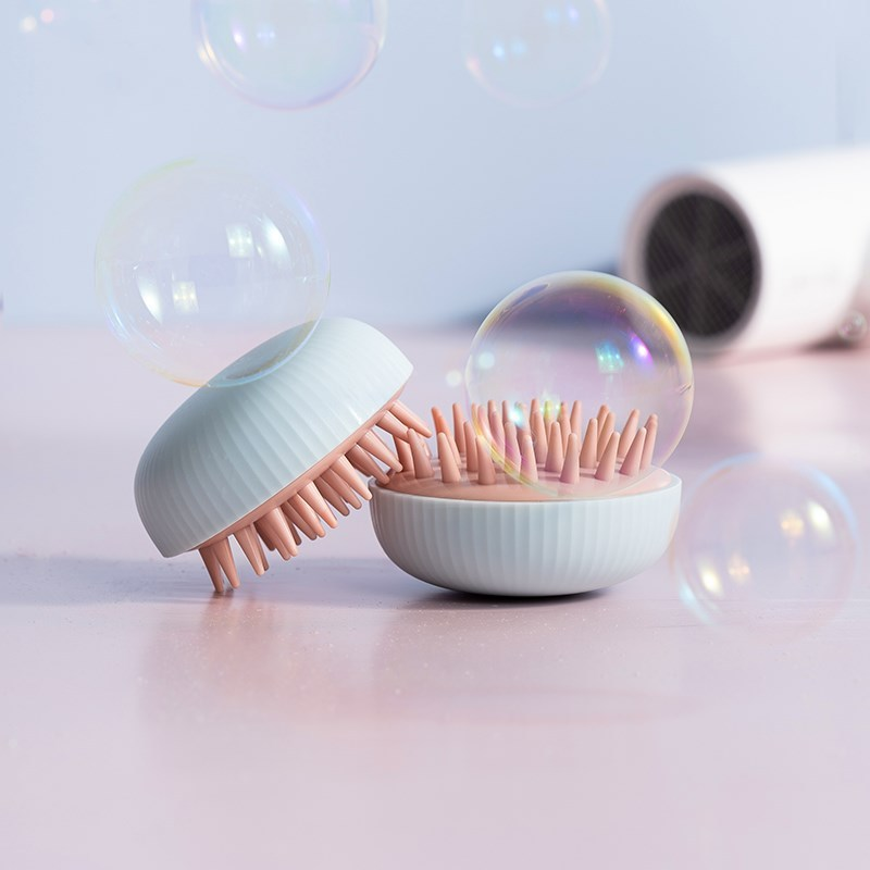 Silicone Head Body Scalp Massage Brush Comb Shampoo Hair Washing Comb Shower Brush Bath SPA Slimming