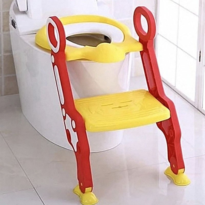 Toilet Ladder Training Children To Enter Toilet Independently Antiskid And Splash Proof Device Safety Device For Boys And Girl
