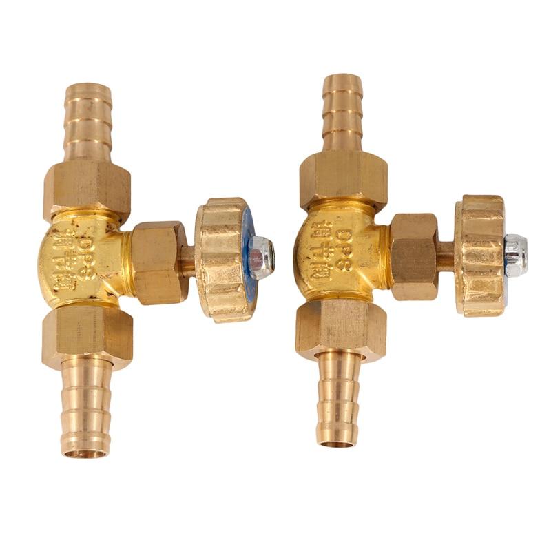 8mm/10mm ID Schlauch Barb Messing Parallel Nadel Ventil Für Gas Max Druck 1 Mpa Hohe Qualität durable