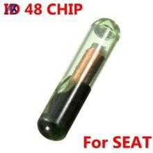 ID48 T6 Car Remote Key Transponder Chip For Seat Ibiza Leon Toledo Cordoba For Skoda Fabia Octavia Blank Immobilizer Chip