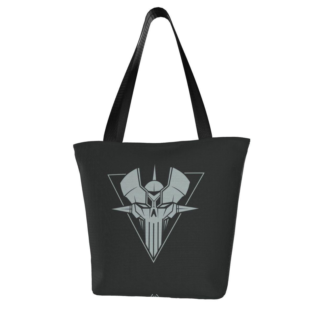 Сумка для покупок Mazinger Z, рабочая женская сумка, оптом, многоразовые Полиэстеровые сумки