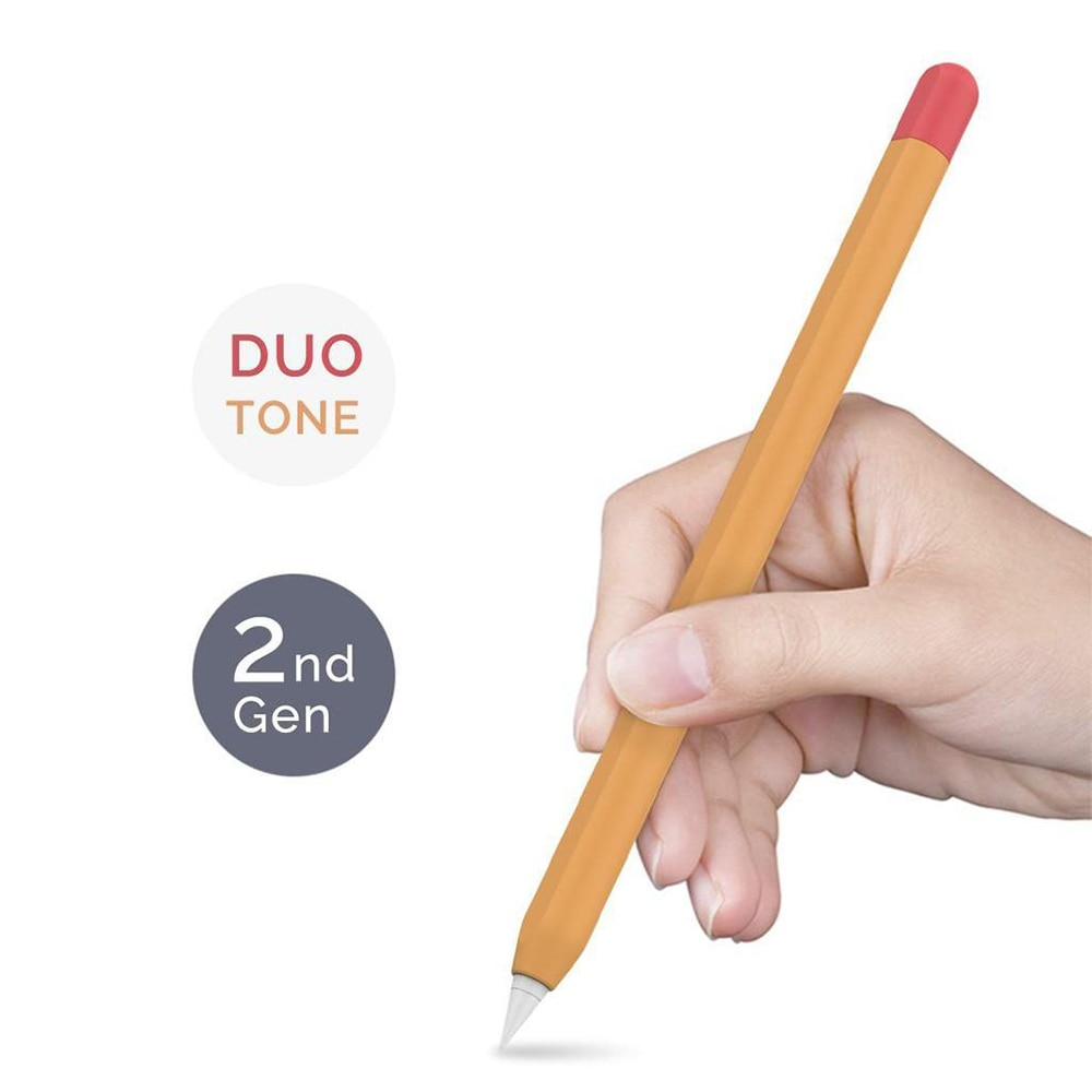 Ultra Thin Case Silicone Skin Cover Compatible with Apple Pencil 2nd Generation, For iPad Pro 11 12.9 inch-2 Pack