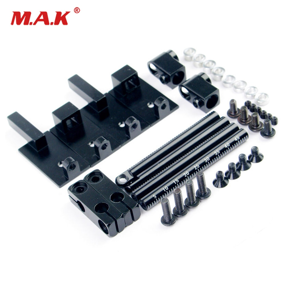 1:10 RC Car Accessories Alloy Stealth Body Stand Mount 078026BK Height Adjust For HSP HPI enlarge