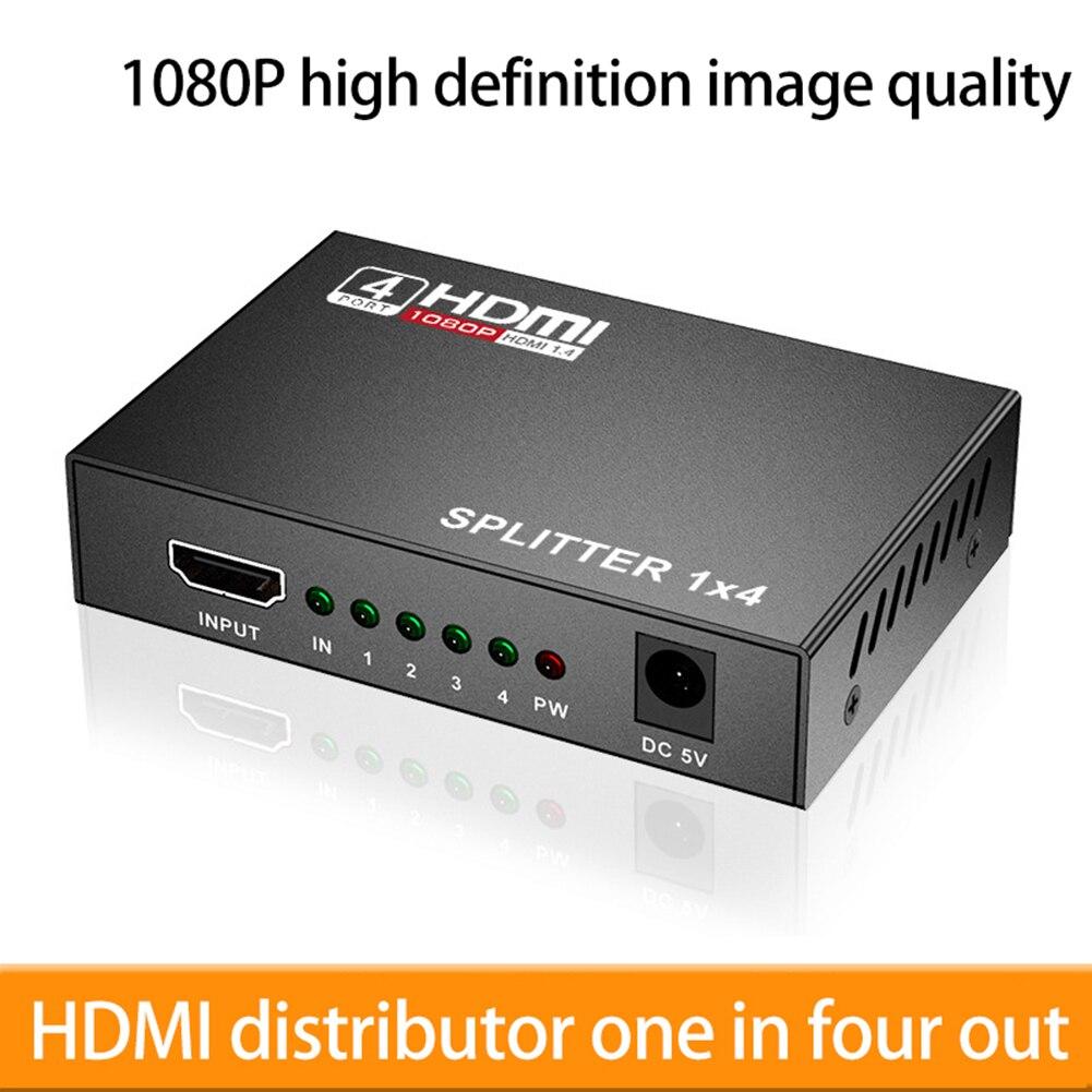 3D 1080p HDMI Divisor compatible con HDCP 1 em 4 Amplificador de...