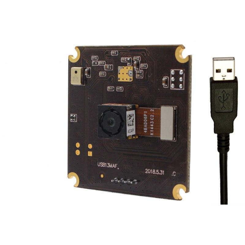 13 миллионов HD Автофокус USB модуль камеры для съемки документов Макросъемка HD съемка 75 градусов без искажений