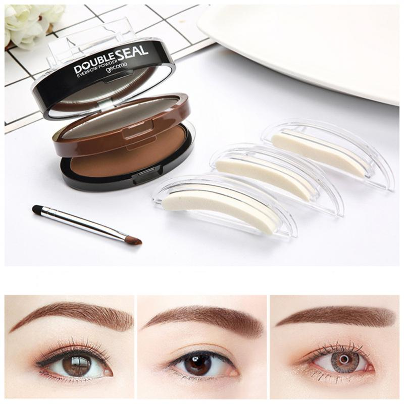 3 Seconds Quick Makeup Brow Eyebrow Powder Stamp Lazy Waterproof Eyebrow Cream for Perfect Eyebrows
