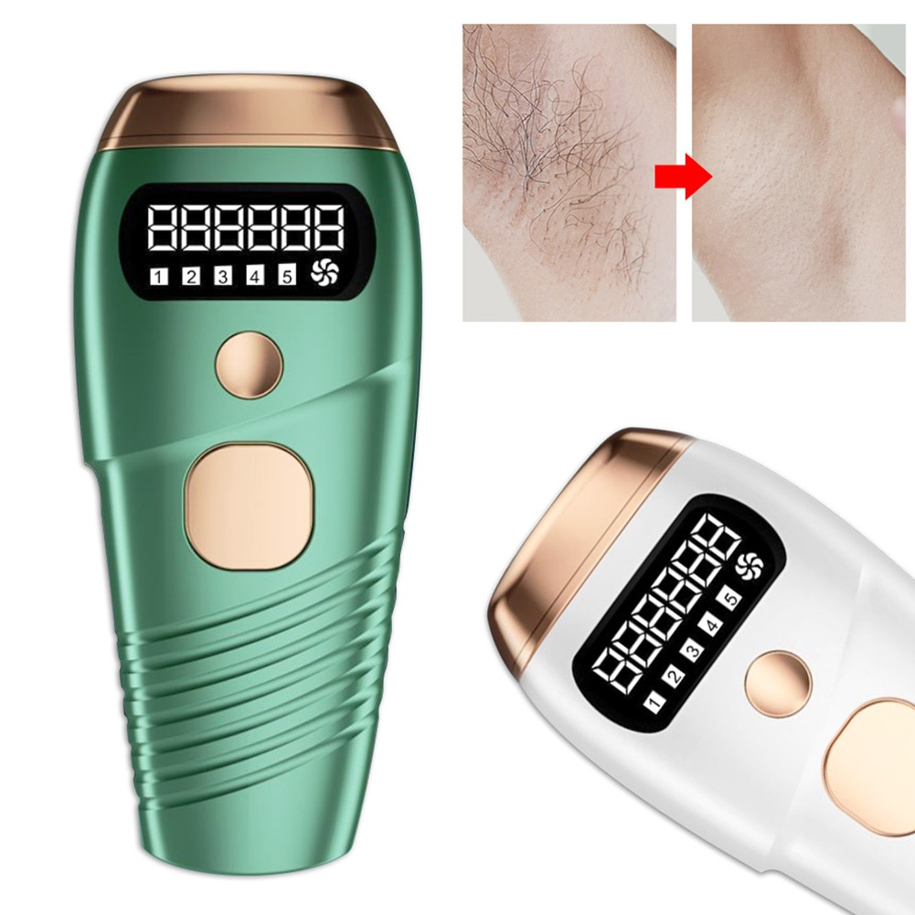Laser Epilator 990000 Flash IPL Hair Removal Device Painless Face Body Hair Trimmer for Men and Women