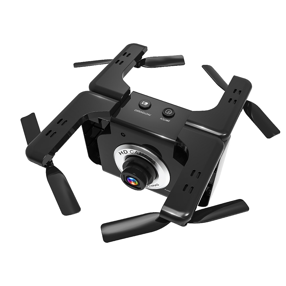 LYZ L600 Optical Flow Single Camera Remote Control Aircraft Folding Gesture Camera Drone HD Aerial Photography Quadcopter enlarge