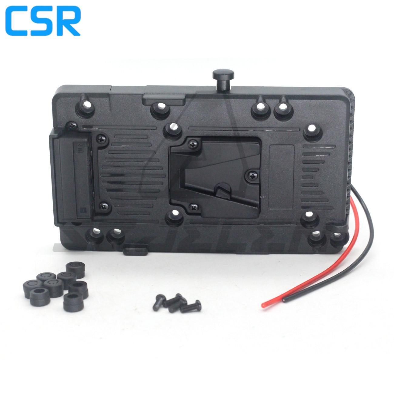 Andoer-placa adaptadora voltar pacote com d-tap Saida para sony v-montagem v-lock, batería...