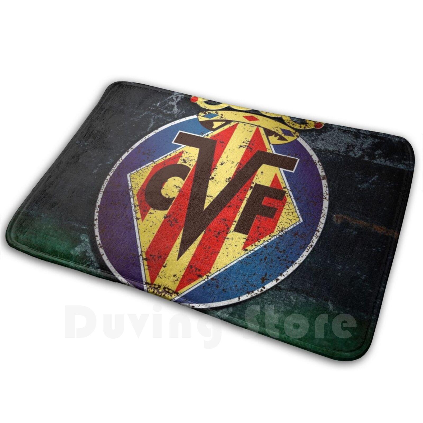 Villarreal-alfombra cómoda para puerta, cojín de Villarreal, amarillo, Submarino Es Liga, España...