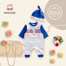 Baby one piece clothes male baby spring and autumn clothes