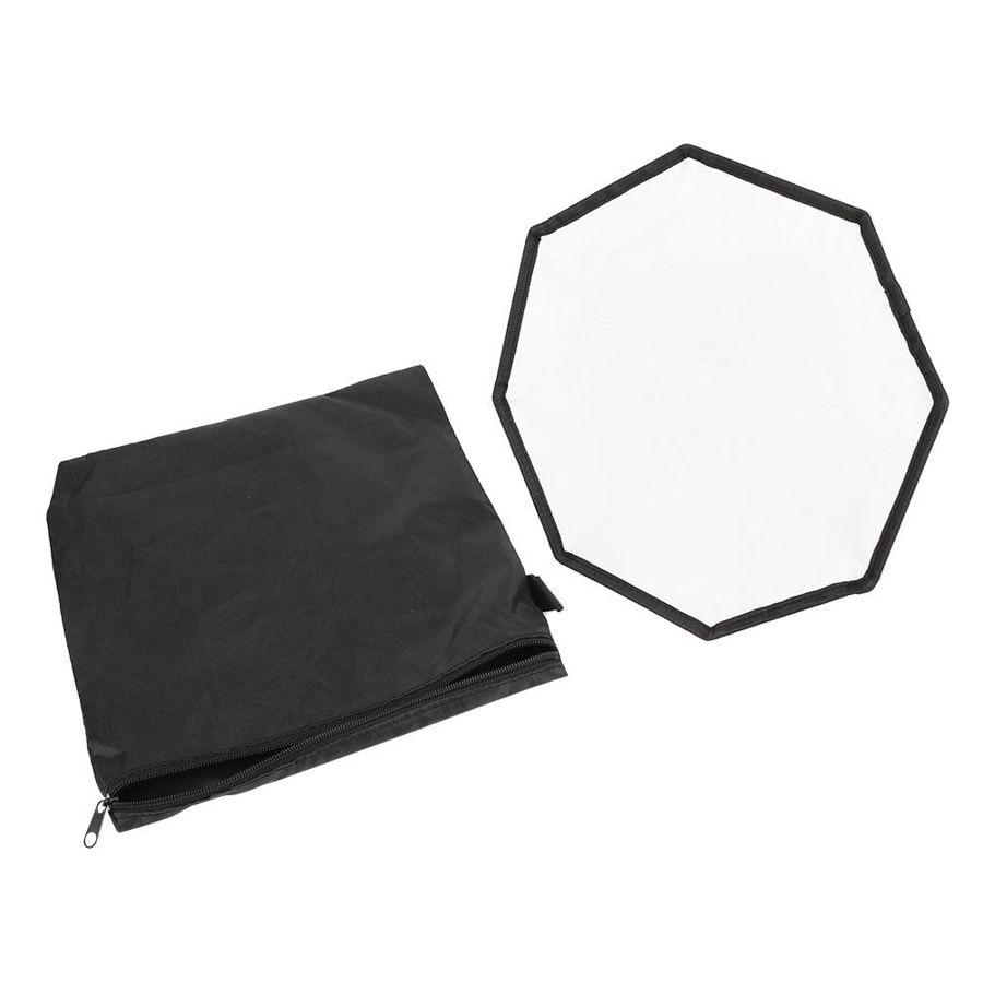 30cm octogonal cerca-caja de luz suave Mini Softbox Universal compacto Panel de luz Softbox plegable difusor suave