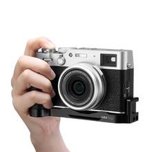 UURig быстросъемная L образная пластина для Fujifilm X 100V Fuji X100V ручка удлинитель Холодный башмак 1/4 винтовое крепление заполняющий свет микрофон