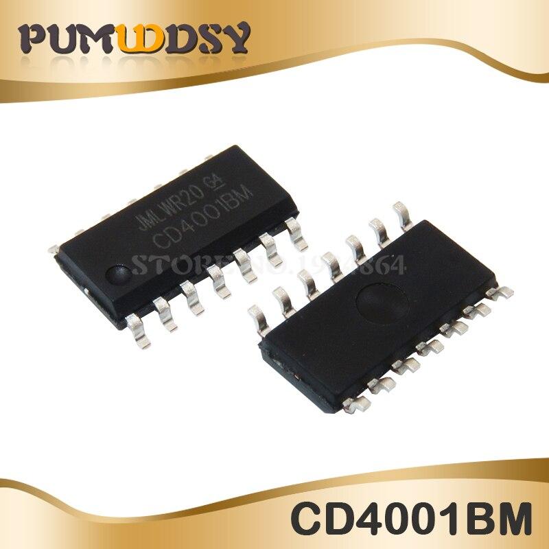 10uds. CD4001BM SOP-14 CD4001BM96 SOP14 CD4001 SOP
