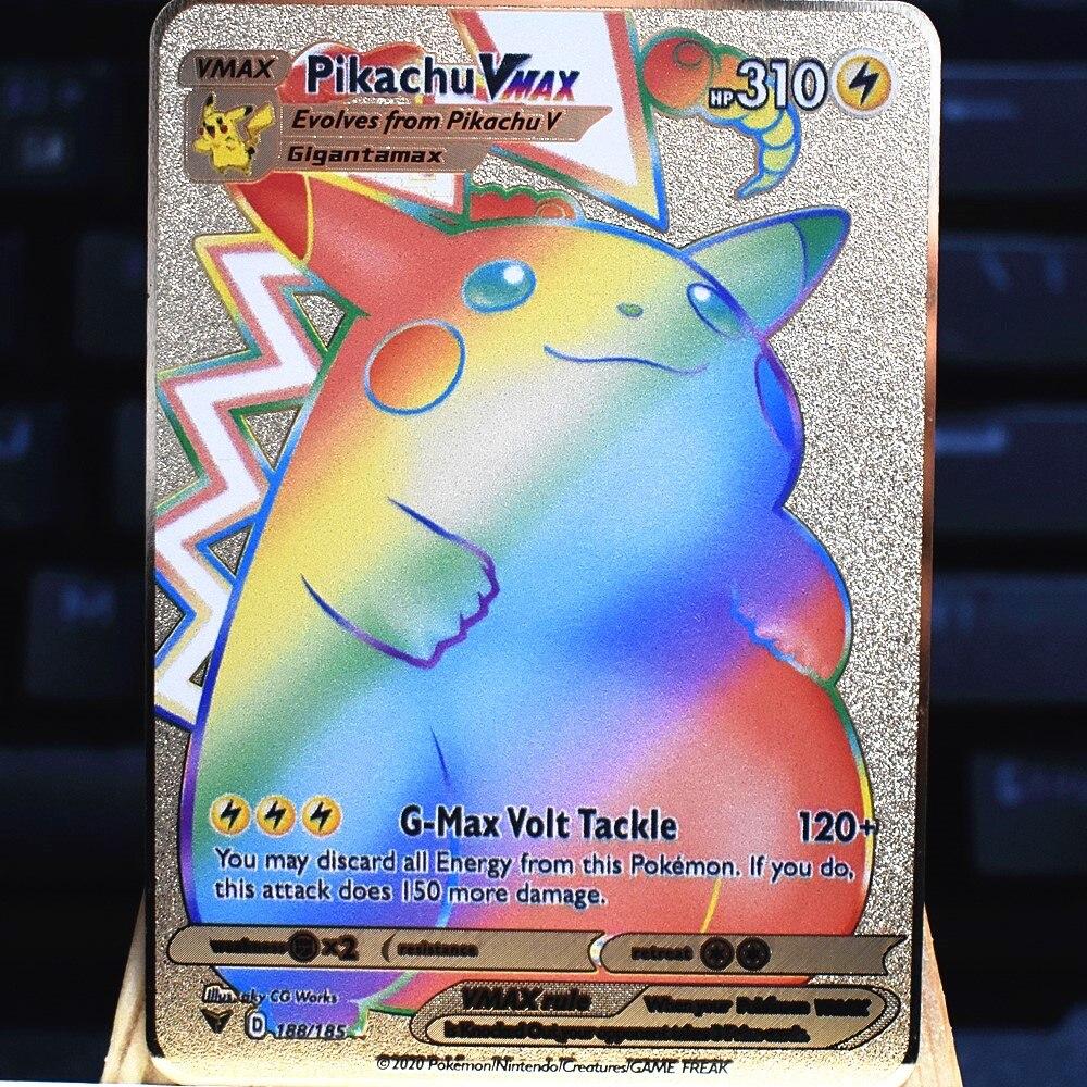 Покемон ПВ японский французский английский аниме карточная игра Покемон файтинг капикачу коллекционный подарок для детей Покемон карточк...