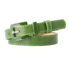 Belt For Women Alloy Buckle Female Jeans Belt Oil Drop Leather Ladies Dress Waist Belt Wild Black Gr