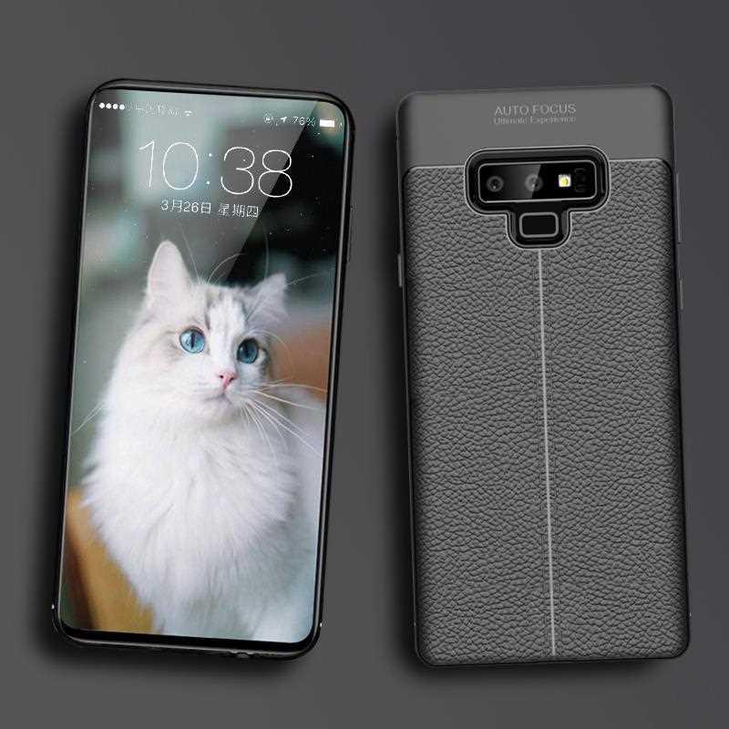 Moderna funda blanda antigolpes de 6,4 pulgadas para Samsung Galaxy Note 9, funda para Samsung Galaxy Note 9, funda para teléfono
