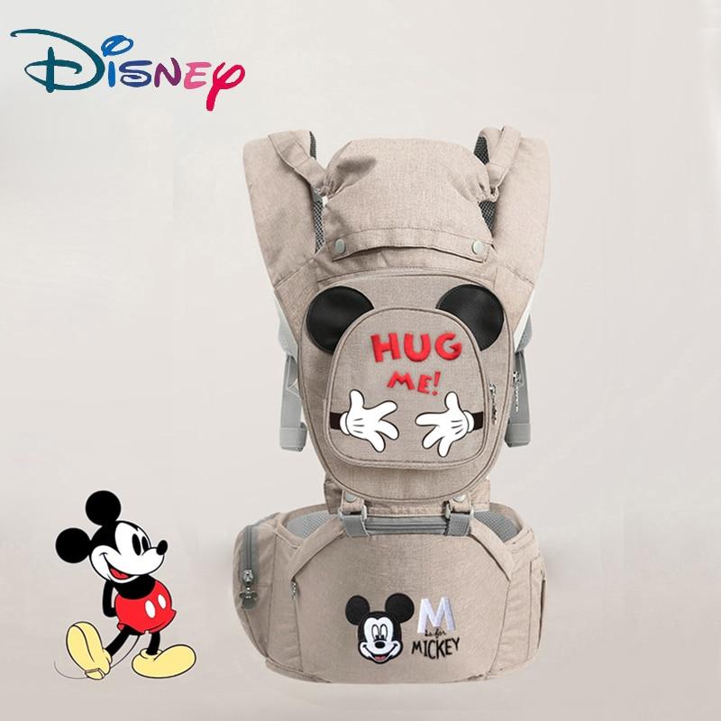 Écharpe de porte-bébé ergonomique Disney   Siège Hipseat, pour bébé enfant bébé, face avant kangourou, porte-écharpe pour voyage bébé de 0 à 18 mois