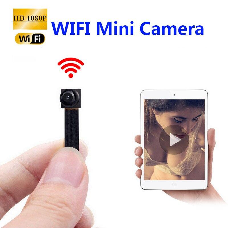 Le plus nouveau 1080P Full HD IP P2P H.264 Ultra Mini WIFI Flexible caméra vidéo Audio enregistreur détection de mouvement caméscope IP P2P