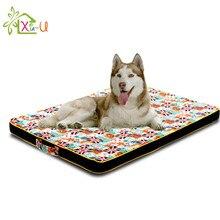 Cama de cachorro de luxo casa canil durável grande tapete de cama do cão puppy sofá grosso colchão ortopédico para pequeno médio grande cão dormir cush