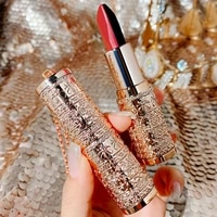 five color magic lipstick long lasting waterproof matte shimmer velvet non sticky cup color changing beauty lipstick
