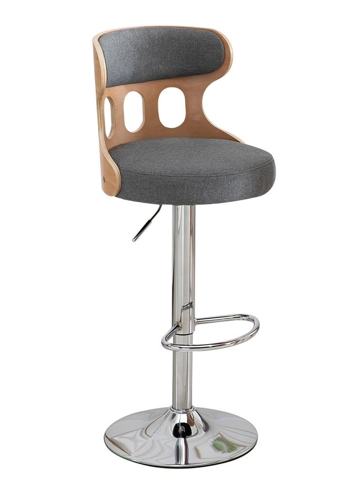 Muebles De Cocina De Metal, silla nórdica De comedor, Taburete, Mostrador De...