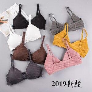 3D Sexy Lingerie Seamless Sport Bra U Type Backless Strapless Top Bra Push Up Bralette Brassiere Women Underwear yj9932