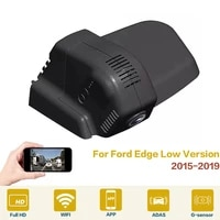 car dvr wifi video recorder dash cam camera high quality night vision full hd for ford edge low version 2015 2019