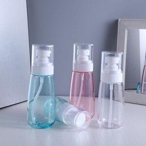 1 шт прозрачные пустые бутылки-спрей 30 мл/60 мл/80 мл/100 мл пластиковый мини многоразовый контейнер пустой косметический инструмент для ухода з...
