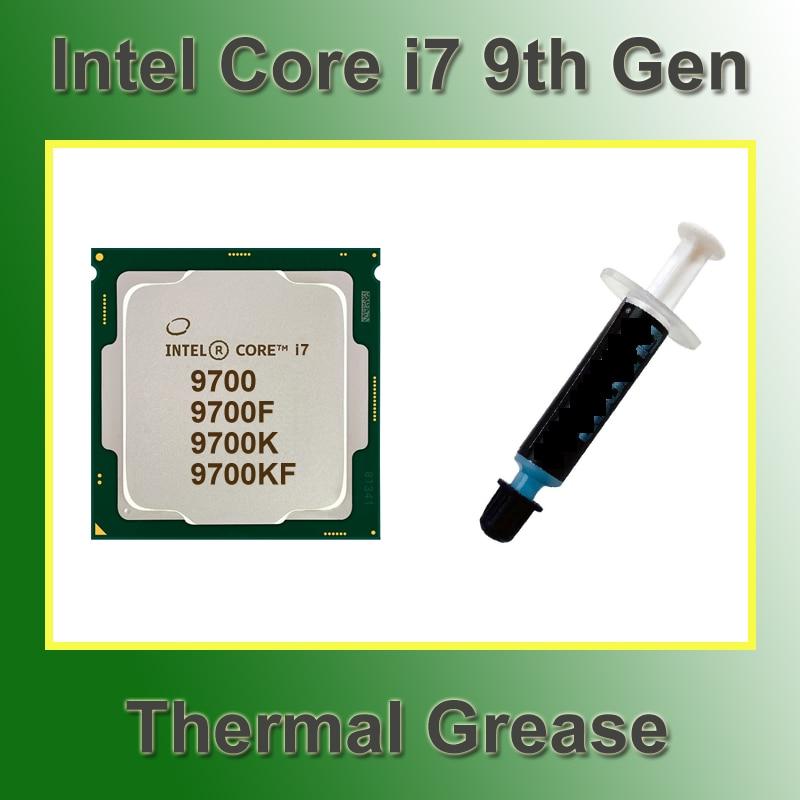 [해외] 인텔 코어 I7 9700 열 그리스 프로세서 I7 9700K 9700KF 열 붙여 넣기 9700F CPU i7 9 세대 컴퓨터 부품 DIY