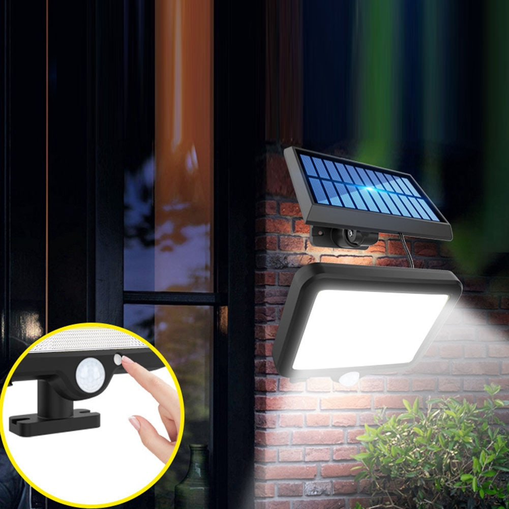 120/160LED Solar Licht Außen Motion Sensor Wand Licht Solar Garten Hof Lampe Wasserdicht Notfall Pathway Hof Straße Lampe