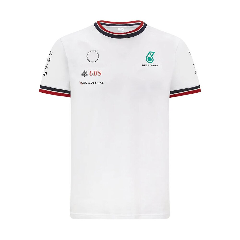 F1 AMG Team Shirt Short  Sleeve T-Shirt Breathable Jersey Motorbike Motocross Clothing MX Dirt Bike Cycling T-shirt Jersey