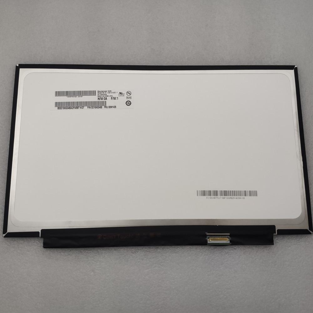 شاشة 14.0 بوصة حاسوب محمول LCD B140han03.1 00NY435 لينوفو ثينك باد x1 كربون 5th 6th Gen 2017 2018