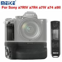 Meike MK-A7R IV Pro Battery Grip Remote Control Vertical Shooting Grip Hand Grip For Sony a7RIV a7R4 a7IV a74 a9II