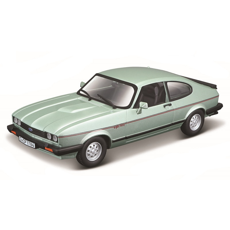 Bburago 1:24 Scale 1973 Ford Capri alloy racing car Alloy Luxury Vehicle Diecast  Cars Model Toy Collection Gift alloy diecast model trucks transport 1 50 engineering car vehicle scale truck collection gift toy