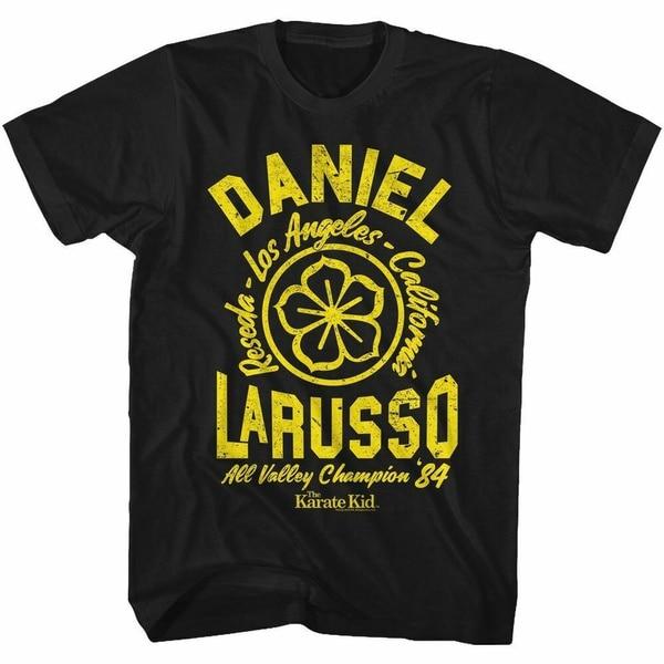 T-Shirt karaté enfant-Daniel-classique américain-adulte