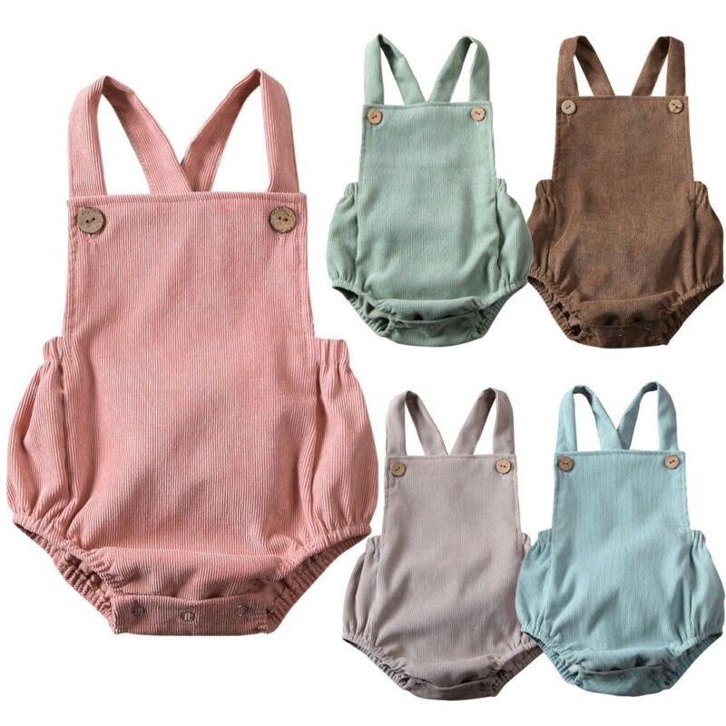 0-24M recién nacido Niño mameluco para bebé niña traje de sol sin espalda ropa Playsuit
