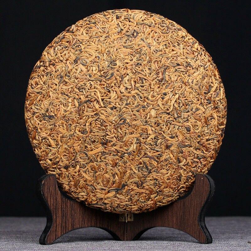 DIANHONG-كعكة شاي صينية سوداء ، يونان عضوية ، 2020 جرام ، 357
