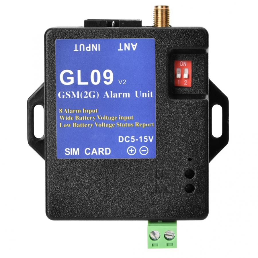 gsm alarm/gsm GL09 8 Channel Battery Operated App Control GSM Alarm Systems SMS Alert Security System