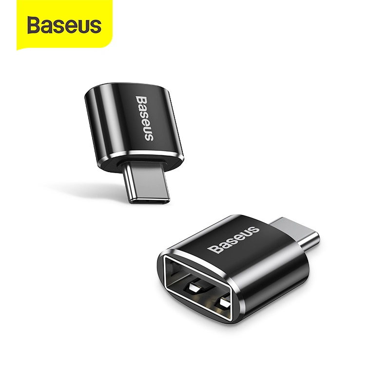 Baseus USB C Adapter OTG Type C to USB Adapter Type-C OTG Adapter Cable For Macbook Pro Air Samsung