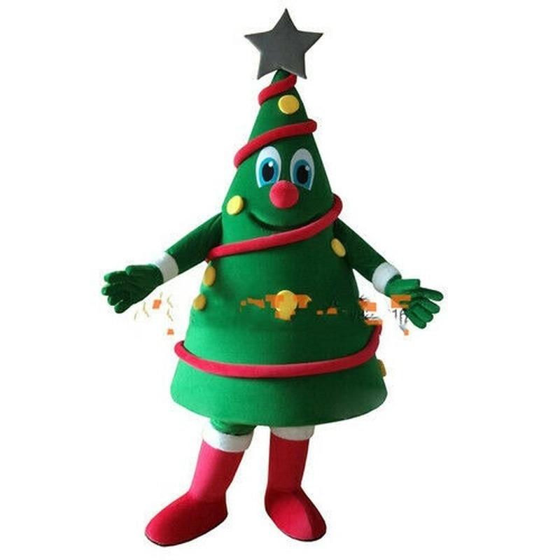 شجرة كريسماس خضراء رائجة البيع زي التميمة هالوين حفلة عيد الميلاد الحدث على نطاق واسع