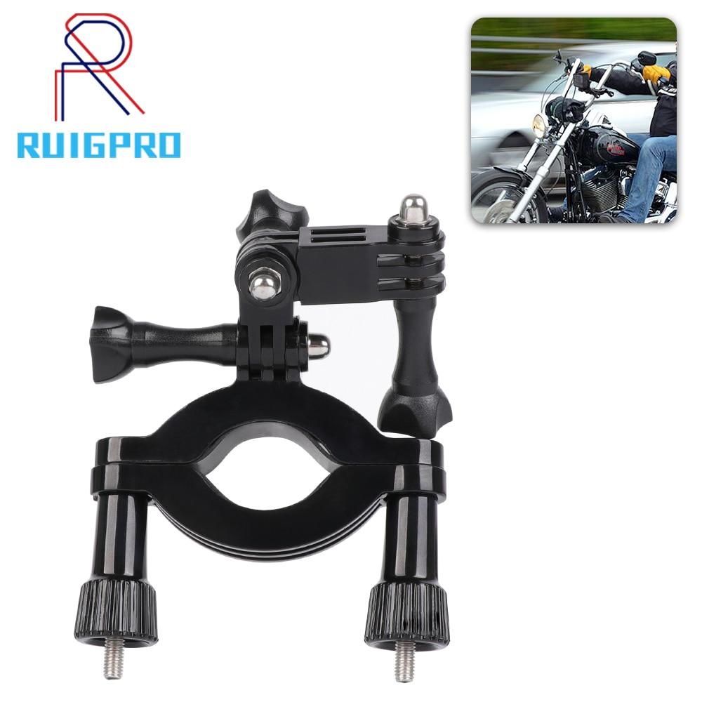 RP Fahrrad Motorrad Lenker Clamp Halter Stativ Halterung für GoPro Hero 8 7 6 5 Schwarz Xiaomi Yi 4K sjcam Eken Gehen Pro Zubehör