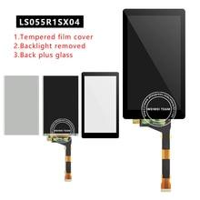 Wisecoco LS055R1SX04 pour Photon Wanhao D7 imprimante 3d photopolymérisable écran LCD + Film protecteur + verre KLD 1260 1268 écran LCD