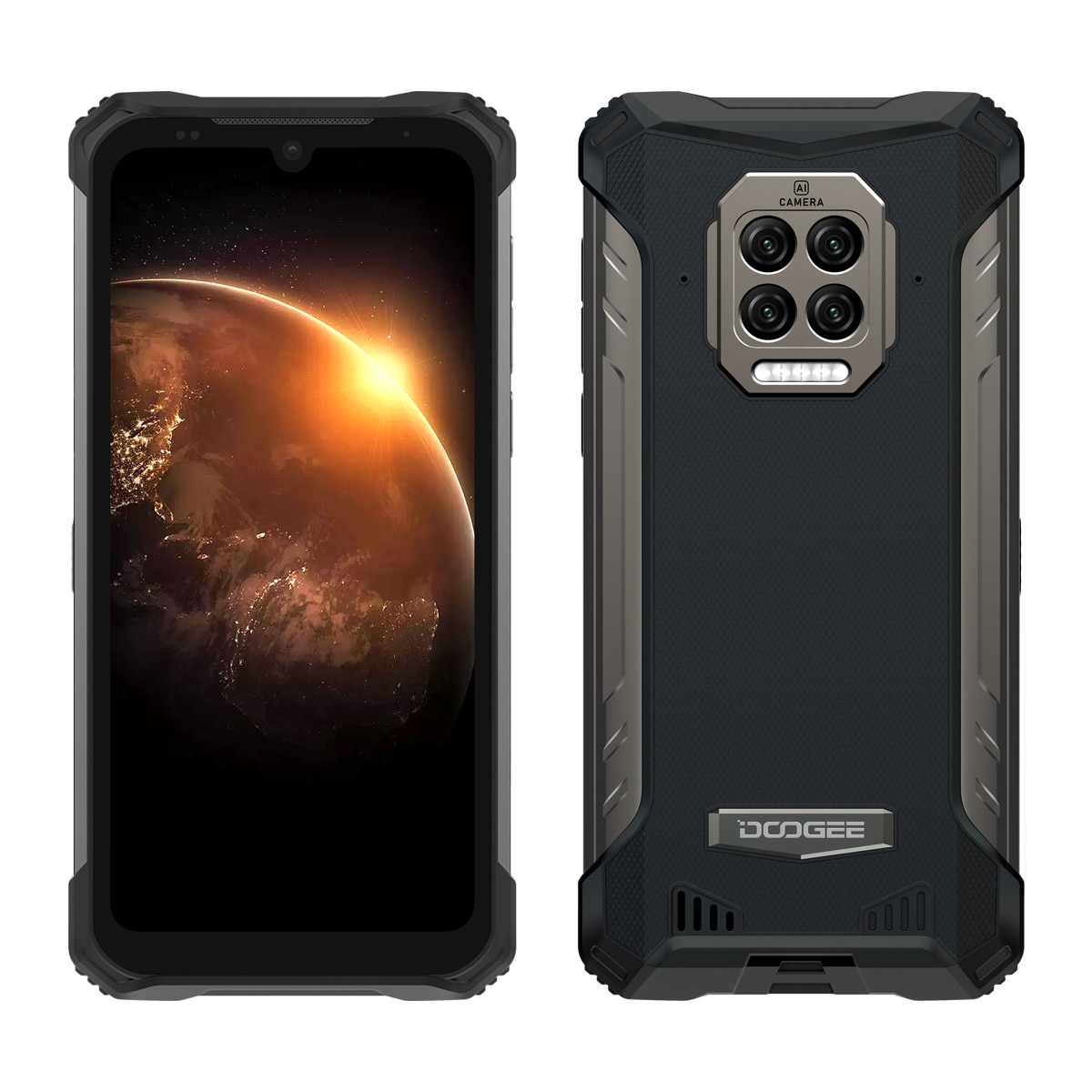 DOOGEE S86 Pro Прочный смартфон с восьмиядерным процессором, 8 ГБ + 128 ГБ, инфракрасный термометр, мобильный телефон, смартфон HelioP60