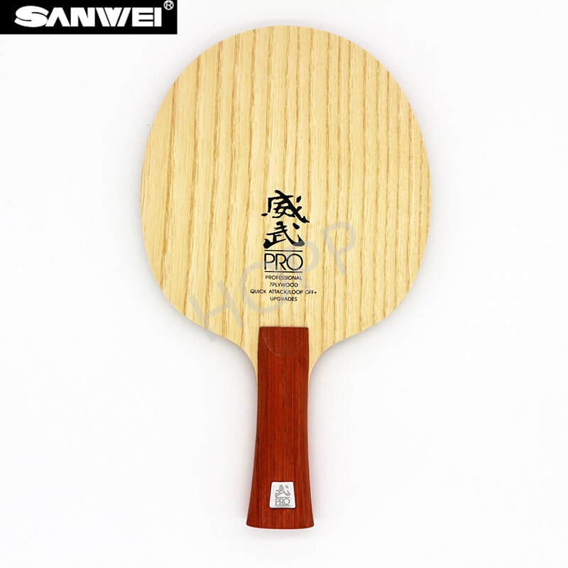 SANWEI V5 PRO Table tennis blade professional 7 plywood quicky attack+ loop OFF+ sanwei ping pong racket bat paddle