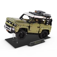 acrylic display stand compatible for 42110 land rover defender technical creator expert toys not include the model